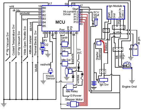 computer wiring diagram