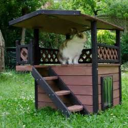 maisonette cat house great deals on outdoor cat house