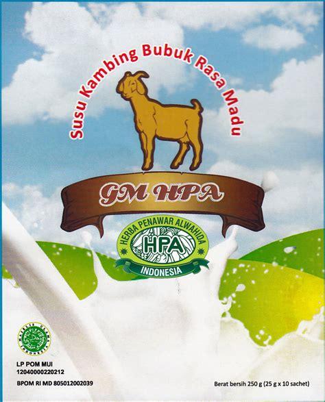 Kambing Etawa Organik Power Goat Milk Bubuk radix goat milk rumah herbal nizham