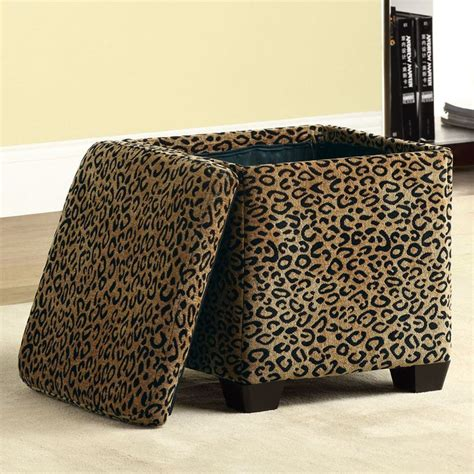 Animal Print Storage Ottoman Animal Print Storage Ottoman Shop Storage Animal Print Plush Ottoman Colors Walmart Animal