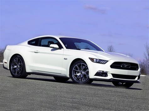 ford mustang year 2015 ford mustang 50 year limited edition review