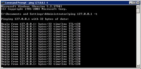 ping test cmd how to run an infinite ping server intellect