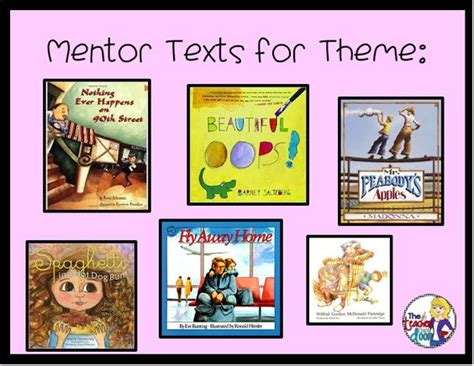 list of picture books to teach theme the world s catalog of ideas