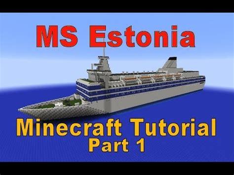 tutorial rufus 2 4 minecraft ms estonia tutorial part 1 youtube