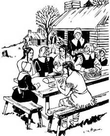 the first thanksgiving coloring pages thanksgiving feast coloring page crayola com