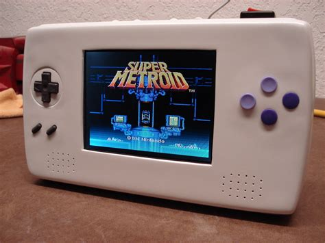 handheld super nintendo hack has us salivating geekadelphia