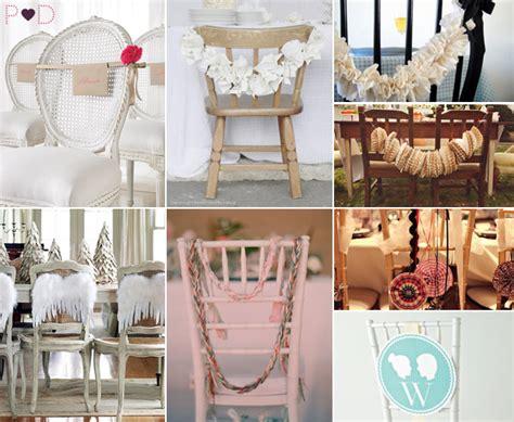 Chair Decorating Ideas by Wedding Chair Decoration Ideas Decoration