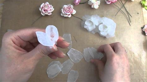 How To Make Wax Paper Flowers - 3 lovely flower s tutorial using melted candle wax and