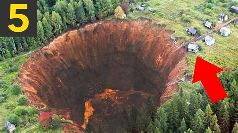 Sink Holes Usa by Top 5 Largest Sinkholes On