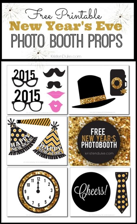 new year printables new years printables