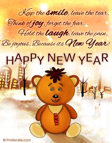 new year wishes sheep year new year teddy new year greeting card with message