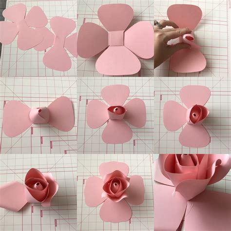 How To Make Paper Flower Petals - s paper flower neville design