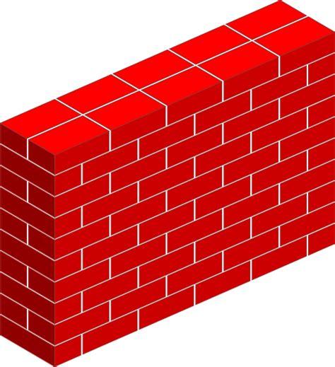 brick wall clipart brick wall clip at clker vector clip