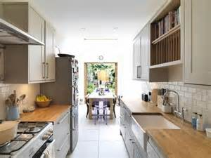 galley kitchen extension ideas great exle of how to best utilise the space you in