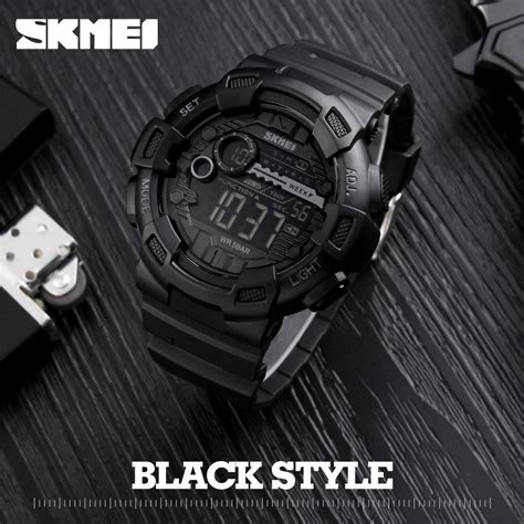 Jam Tangan Skmei Army Sport Chronograph New Fashion Spo Diskon silicone sport skmei top brand mens digtial watches waterproof electronic