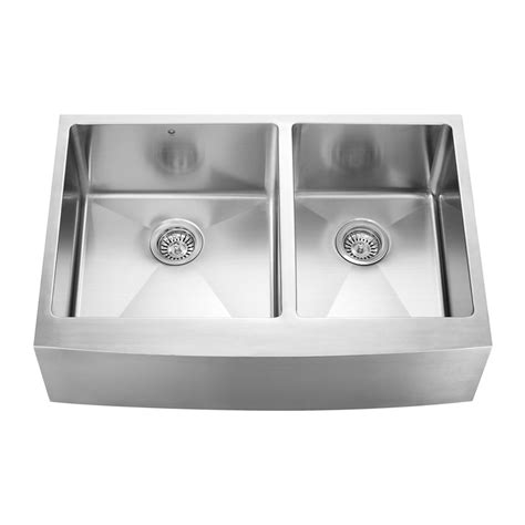 Apron Kitchen Sink Vigo Industries Vgr3320bl Stainless Steel Farmhouse Style Apron Kitchen Sink Silk Atg