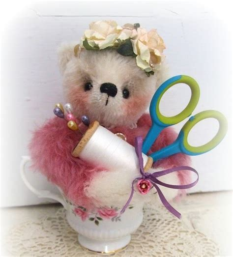 Handmade Pincushions For Sale - handmade teddy bears and raggedies handmade teddy