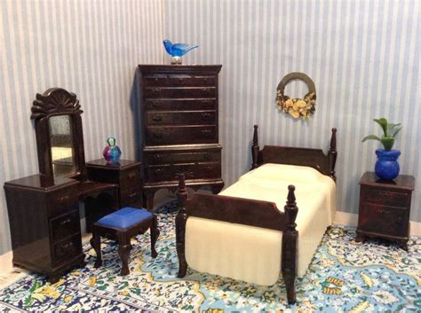 ideal furniture bedroom sets ideal 5 piece bedroom set vintage dollhouse furniture fits