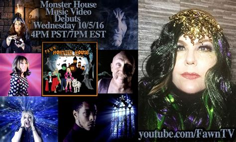 monster house music celebrities come out for halloween music video quot monster house quot by recording artist