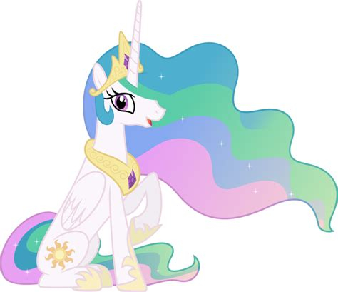 my little pony princess celestia princess celestia sitting down by 90sigma on deviantart