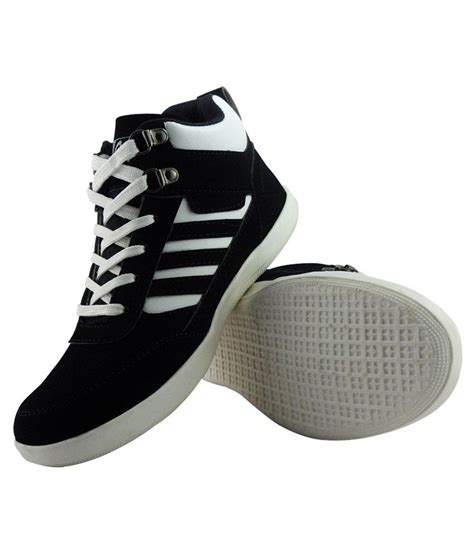 elvace black white casual shoes price in india buy