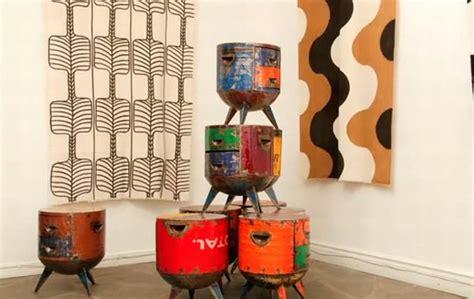recycled metal furniture  hamed ouattara