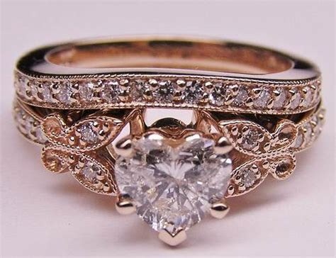 gold engagement rings vintage