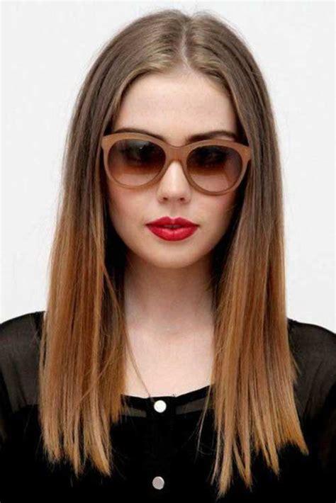 blunt hair cut lake county illinois stilvolle lange haare mit stumpfen stil schnitte trend