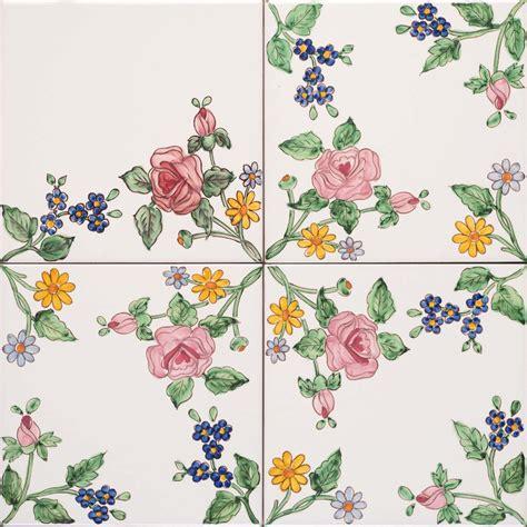 decori fiori tralcio fiori decori fiorati dipinti a mano decori