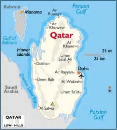 Qatar On World Map by Gallery For Gt Qatar Map