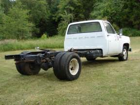 1975 chevy 1 ton chevrolet truck k30 dually chassis