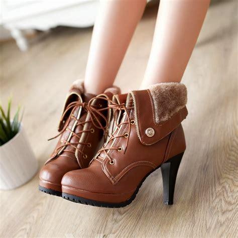 imagenes de zapatillas coreanas maravillosas botas y botines de moda colecci 243 n oto 241 o