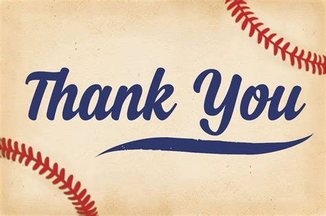 Baseball Thank You Card Template by Baby Shower Thank You Cards Baseball Thank You