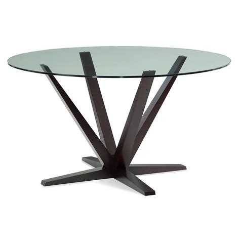 60 inch table top aura 60 inch rockport glass top dining table skgo