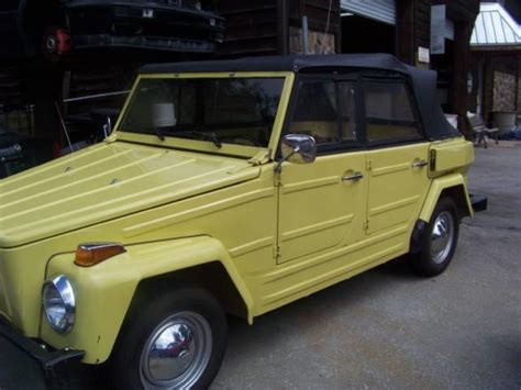 volkswagen thing for sale carsforsale com search results