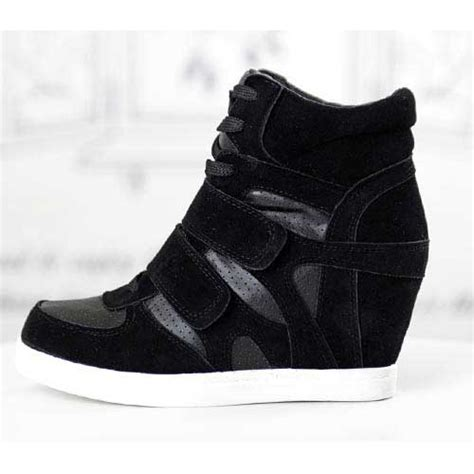 basket femme montante compensees lacets high top sneakers fashion mode 2012 2013 ref19 jpg