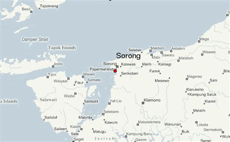 Sarung Papua sorong location guide