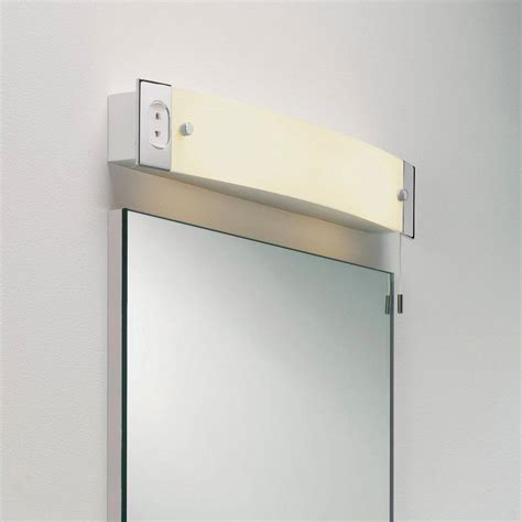 bathroom light socket some excellent led bathroom mirrors with shaver socket
