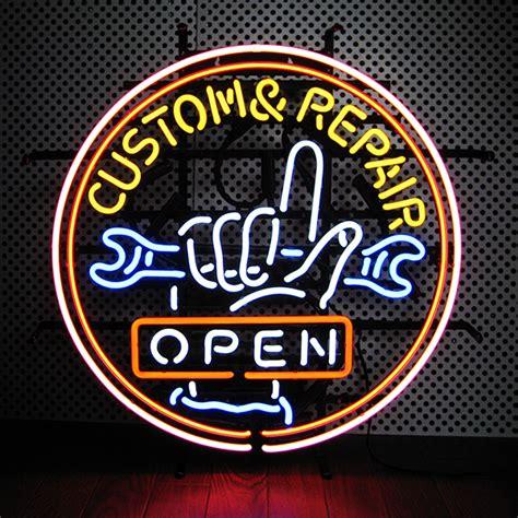 neon light repair shop lavieen rakuten global market neon signs custom open