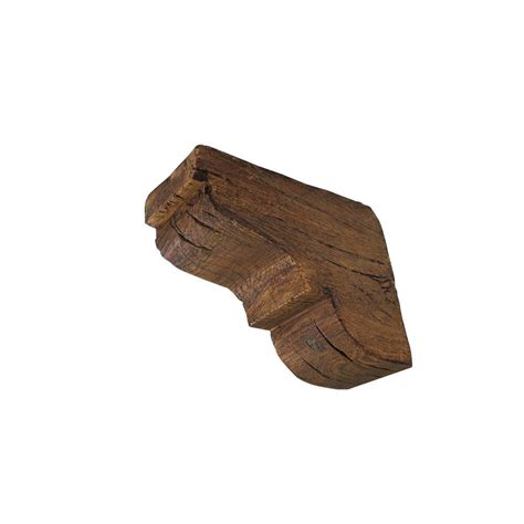 Faux Wood Corbels by 10 5 8 In X 10 5 8 In X 4 3 4 Prefinished Polyurethane
