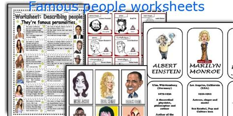esl celebrity biographies english teaching worksheets famous people