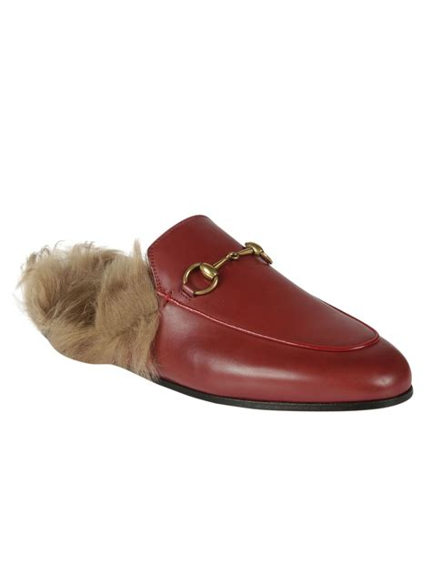 Flat Shoes Guci Amour gucci gucci princetown slipper s flat shoes italist