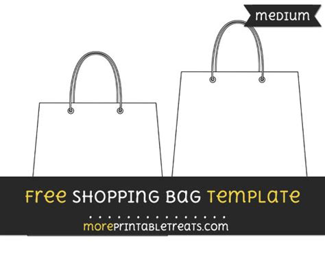 shopping bag template shopping bag template medium