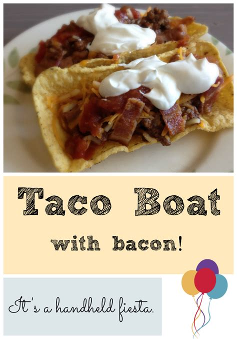 ortega taco shell boats easy recipe bacon taco boats chronicles of nothing