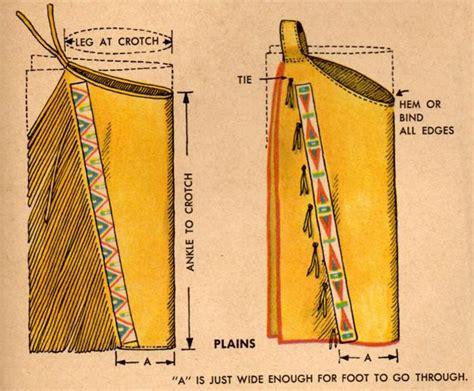 pattern for native american leggings lakota music and dance men s and women s plains buckskin