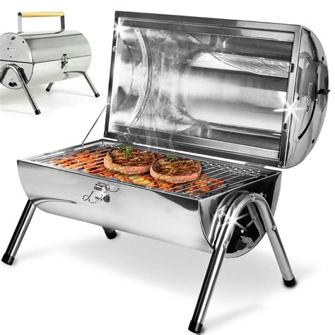 stainless steel bbq bench bbq barbecue portable stainless steel grill foldable table