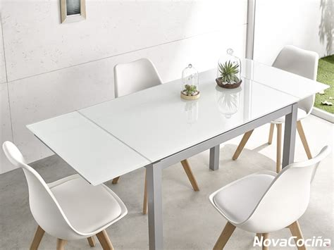mesa extensible  cocina modelo karina anova cocina