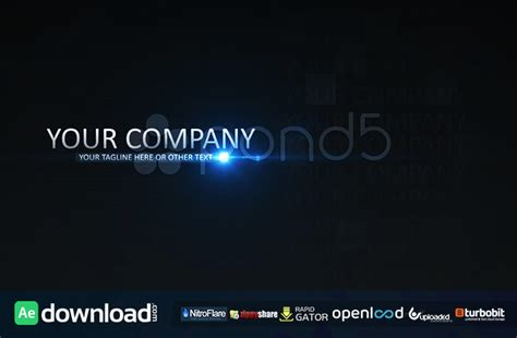Commercial Promo Pond5 Free After Effects Template Free After Effects Template Videohive After Effects Commercial Template Free