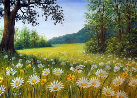 immagini paesaggi fioriti vendita quadri paesaggi naturali ci fioriti di