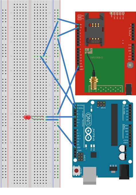 Code Arduino Gsm   turn on off leds using arduino and gsm module